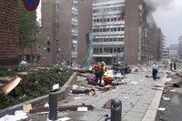 挪威首都一栋大楼发生爆炸致多人死伤