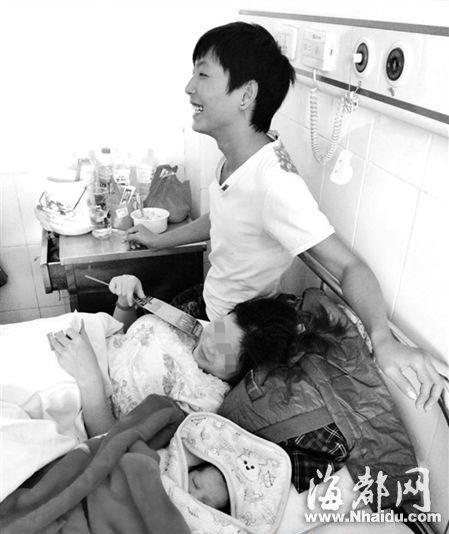 贵州95后情侣生子升级做父母 全家乐开怀(图)