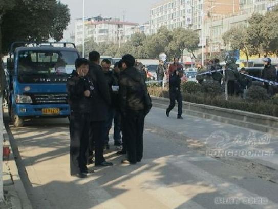 南京一名市民取钱时遭抢劫 被枪击当场身亡(图)