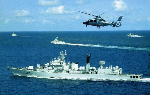 罗援少将:中国海军冲出第一岛链势不可挡(图)