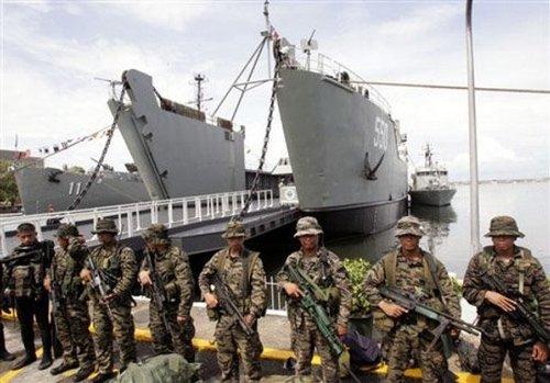 菲律宾海军陆战队(组图)