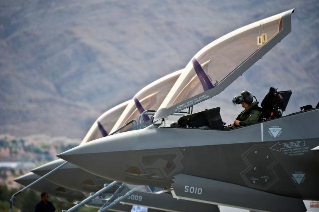 俄媒:美战斗机规模超中俄总和 F35产能超中俄