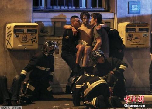 资料图:当地时间2015年11月13日晚间,巴黎发生多起袭击事件。