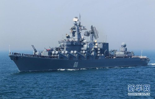 中俄将赴日本海军演 中方战舰驻泊海参崴