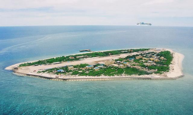 台湾低调强化南沙太平岛建设 将可停靠万吨舰