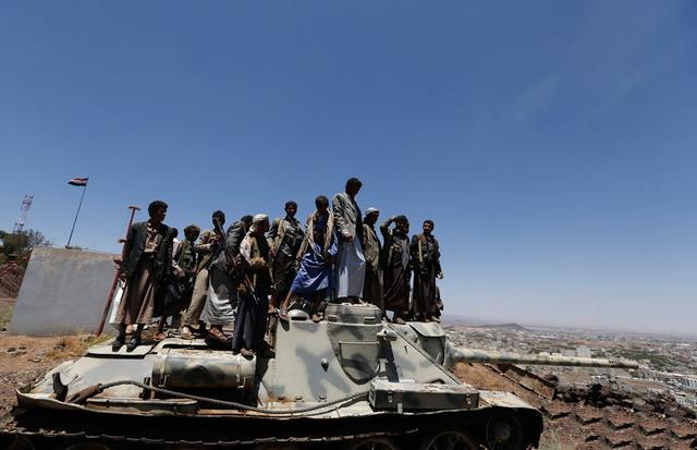 也门政变总统行踪不明 叛军夺走重军火与坦克