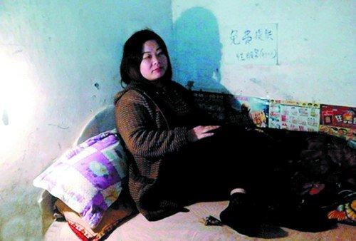 """叶海燕在微博上贴出的""""免费为农民工提供性服务""""的照片 微博截图"""