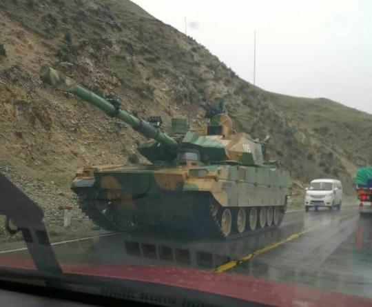 外媒关注中国新轻坦西藏测试:可用运20快速运输