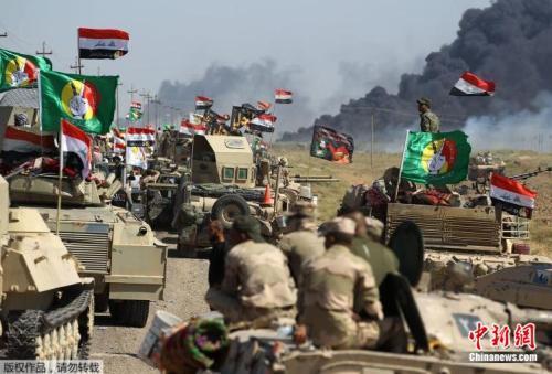 """""""伊斯兰国""""组织在伊拉克北部的最后据点被收复"""