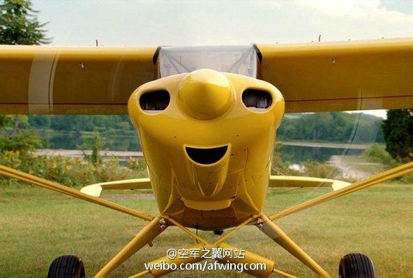 飞机自带表情包 机头现笑脸 - 德耐克热能 - 佛山德耐克热能第一站