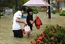 三亚持续暴雨积水严重