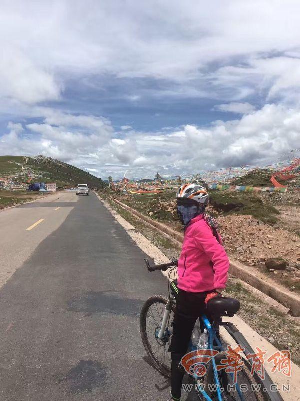 26天2166公里 12岁小女孩和爸爸完成川藏线骑行