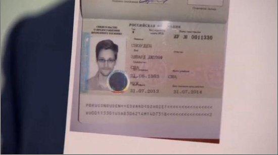 斯诺登获俄罗斯一年期临时庇护 离开莫斯科机场