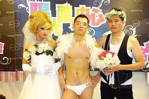 台湾高雄的同性恋者