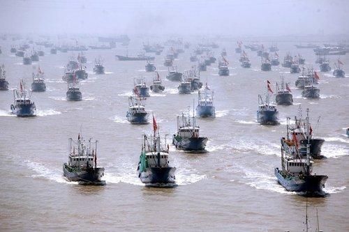 东海伏季休渔结束 大批渔船将赴钓鱼岛海域作业