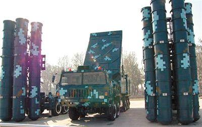 红旗9远程防空导弹系统。
