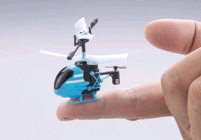 日本研制出世界最小遥控飞机 仅长59毫米(图)