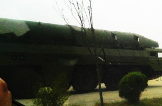 美媒:中国研东风26高超音速导弹 射程三千公里