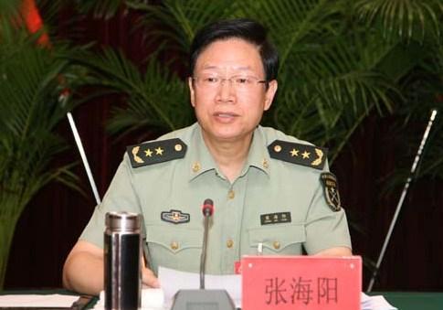 张海阳卸任二炮政委 曾率部在老山作战