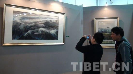 """""""和美西藏""""作品展引发各界人士共鸣"""