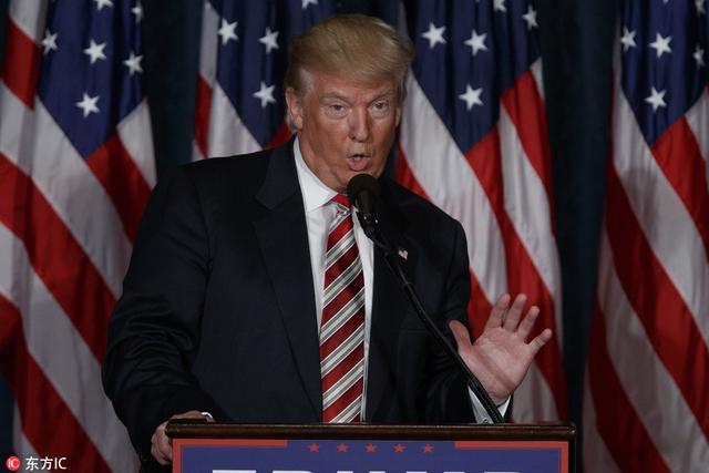 特朗普宣布详尽军事战略:增加军费大规模扩军