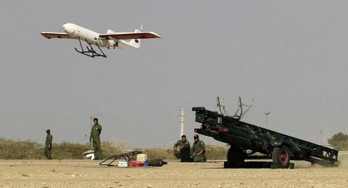 伊朗开始为自己的无人机装备空对地导弹原文配图