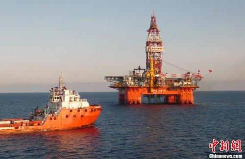 """台""""陆委会""""称两岸已就南海油气探勘进行合作"""