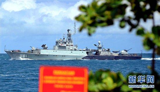 人民日报:反对外部大国插手南海 中国不理亏