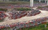 广州上千辆共享单车无人用