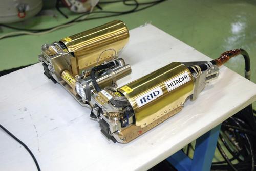 东电重启福岛核电站机器人调查 测量辐射值