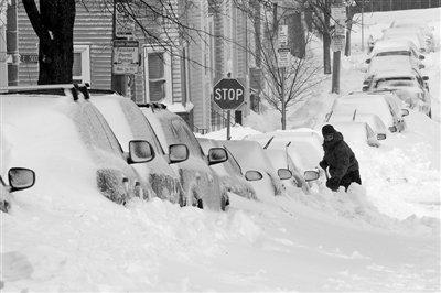 美国暴风雪灾害至少致5人遇难 1女子受困写遗嘱