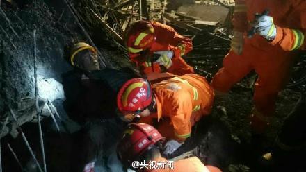 湖南郴州一建筑工地发生坍塌事故 多人被埋
