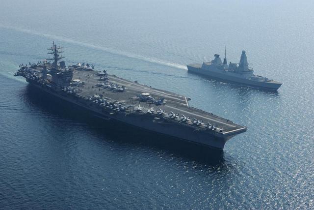 美媒:美军航母正面临挑战 中俄有5种方案反制