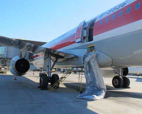 小伙嫌下飞机排队麻烦 擅开飞机安全门被拘