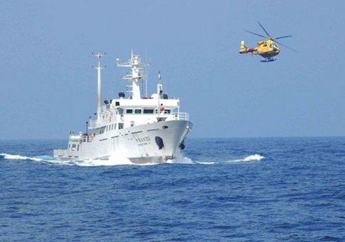 中国渔政船再赴钓鱼岛海域巡航维护国家主权