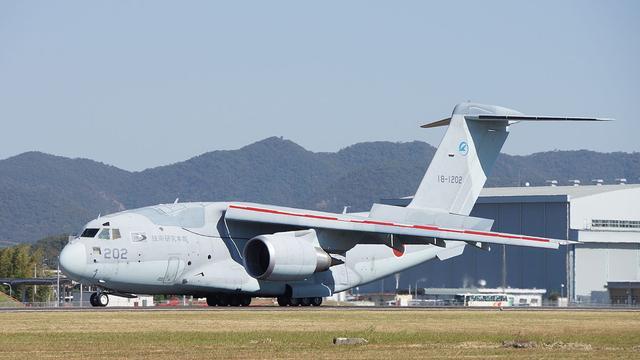 日本向阿联酋推销C2运输机 日媒:载重4倍于美C130