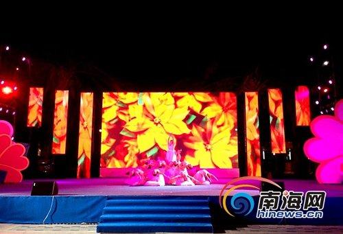 三亚举办母亲节文艺晚会 精彩节目演绎母性光