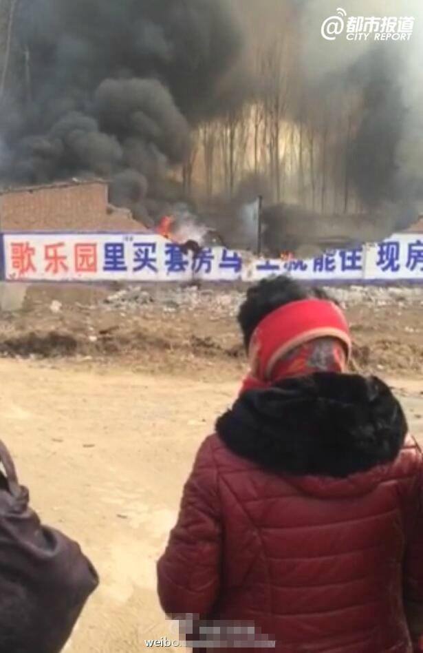 河南焦作武陟一鞭炮厂爆炸 5人死亡