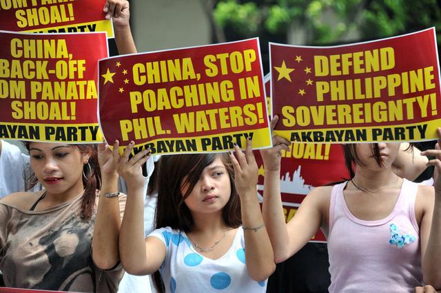 菲律宾忐忑等待南海仲裁 中国使馆提醒公民小心