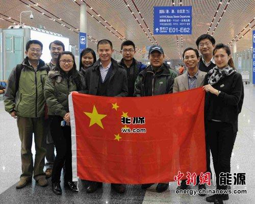 中国青年环境友好使者代表团赴德班气候变化大会