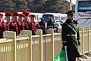 高清:镜头下的武警北京总队两会执勤哨兵