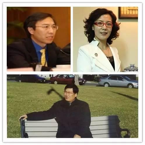 顾永忠(左上)、郝春莉(右上)、许兰亭