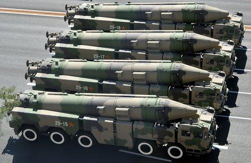 中国在青海部署东风21C导弹 可覆盖印度北部