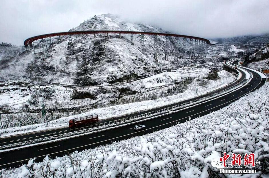 """四川""""天梯高速""""雪景美如画2016.1.13 - fpdlgswmx - fpdlgswmx的博客"""