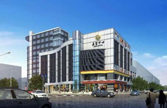 沈某的慈溪嘉富中心一套建筑面积1304.37平方的商用房屋。