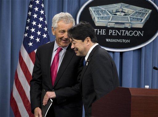 美防长:美国承认钓鱼岛处在日本管辖之下(组图)