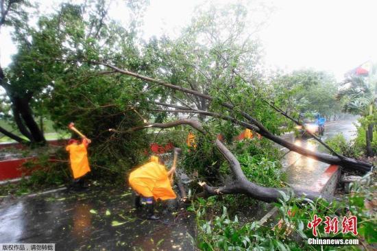 台风威马逊离开菲律宾 已造成至少20人死亡