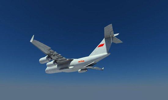 装备了类似美制c-17的通用性战略运输机,那么仅一个10架左右的编队