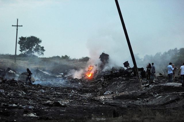 MH17坠毁原因的五种可能
