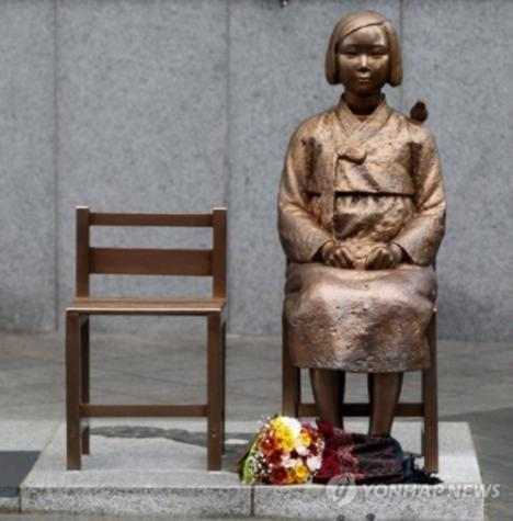韩政府要釜山移走慰安妇像 被骂回应太软了